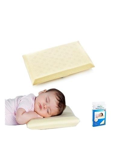 BabyJem Babyjem ART-013 Bogulma Önleyici Bebek Yastık Ekru
